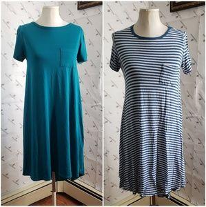 Bundle of 2 Lularoe high lo dresses
